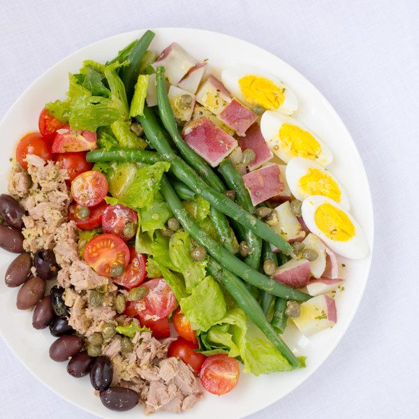Tuna Salad Nicoise with Lemon-Caper Vinaigrette