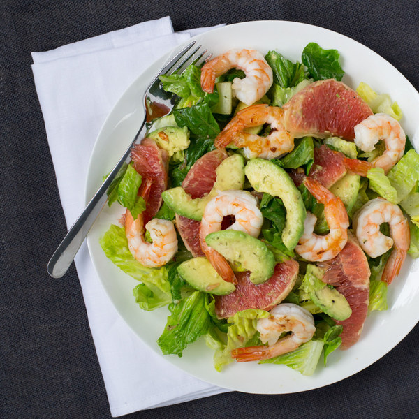 Shrimp, Avocado & Grapefruit Salad