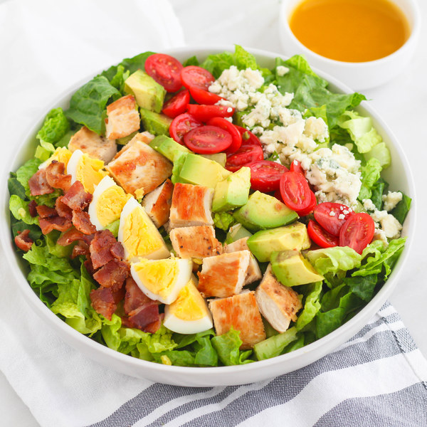 California Cobb Salad with Dijon Vinaigrette
