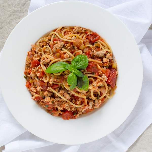 Spaghetti with Turkey Bolognese