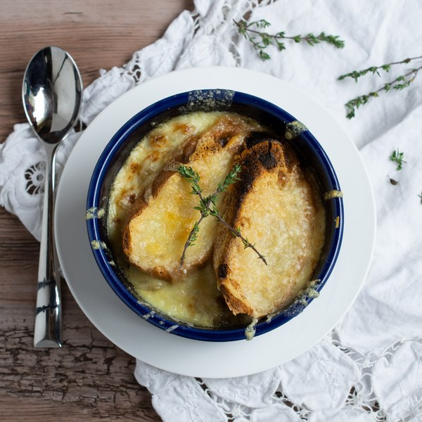 Quick & Cheesy French Onion Soup