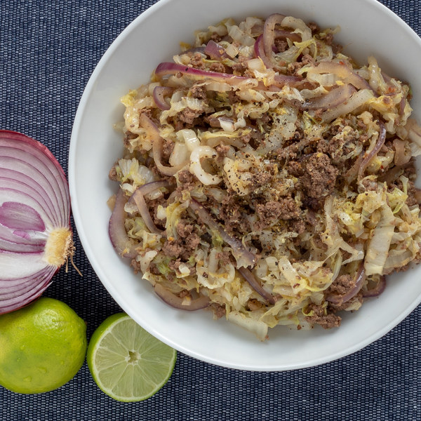 Weeknight Beef & Cabbage Stir Up