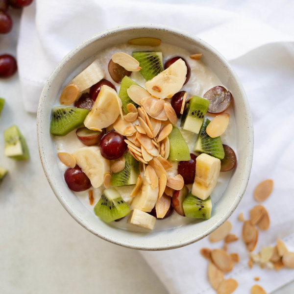 Ricotta Fruit Salad with Almonds