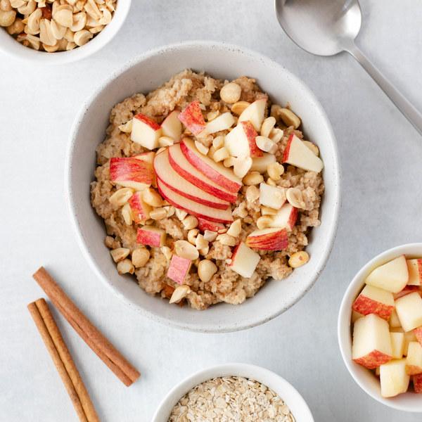 Crunchy Peanut Butter & Apple Oatmeal