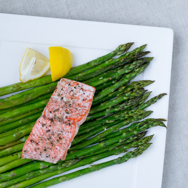 Roasted Salmon & Asparagus
